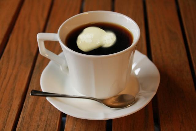 無塩バターコーヒー